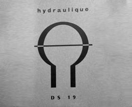 Manuel de formation à l'hydraulique de la DS 19